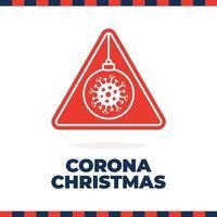 jul coronavirus vägskylt