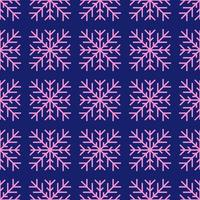geometriska vintern snöflinga sömlösa mönster