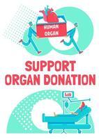 stödorgandonationsaffisch