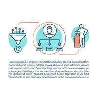 Mitarbeiterfähigkeiten und Kompetenzkonzept vektor