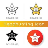 exklusive Job-Icons