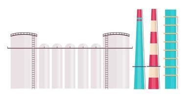 föremål för kraftverkutrustning vektor