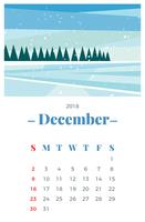 Dezember 2018 Monatskalender