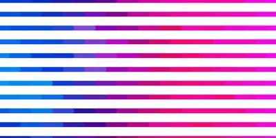 ljusblått, rött mönster med linjer. vektor