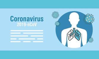 Coronavirus-Präventionsbanner