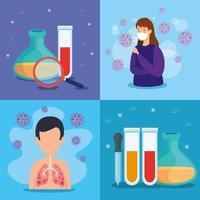 Coronavirus Medical Banner Set