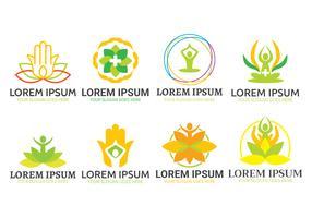 Healing logo vektor set