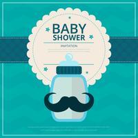 Baby-Dusche vektor
