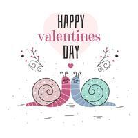 Lycklig Alla hjärtans dag Vector