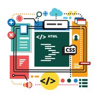 Datorprogramvareingenjörer vektor