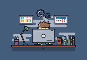 Software Engineers Vektor
