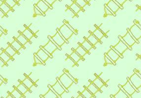 Freie Strickleiter-nahtlose Muster-Vektor-Illustration