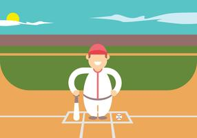 Softballspelare