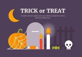 Freie flache Halloween-Vektor-Element-Sammlung vektor