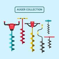 Auger-Vektor-Sammlung vektor