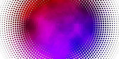 ljusblå, röd vektorlayout med linjer, rektanglar. vektor