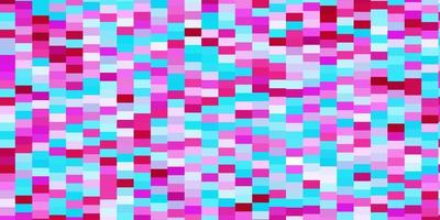 hellblauer, roter Vektorhintergrund im polygonalen Stil.