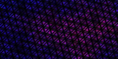 ljusblått, rött vektormönster med polygonal stil.