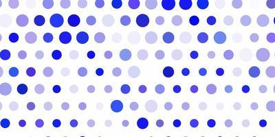ljuslila vektorlayout med cirkelformer.