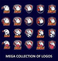 Weißkopfseeadler-Logo-Set