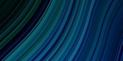 ljusblå, grön vektorlayout med kurvor.