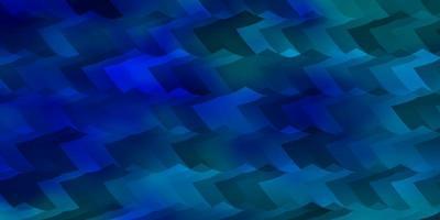 ljusblå vektor bakgrund med hexagoner.