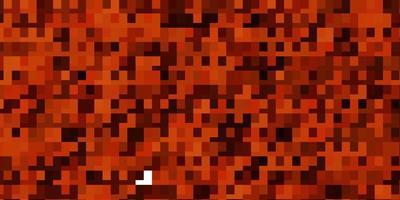 ljus orange vektor bakgrund med rektanglar.