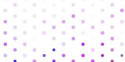 ljuslila vektor bakgrund med bubblor.
