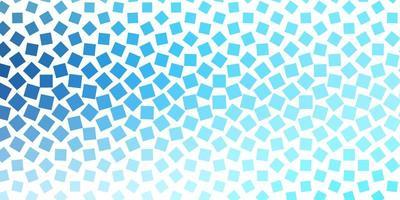 hellblaue Vektorschablone mit Rechtecken.