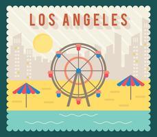 Kreative Vintage Los Angeles-Vektoren