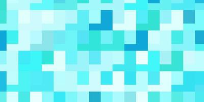 ljusblå, grön vektorbakgrund med rektanglar. vektor