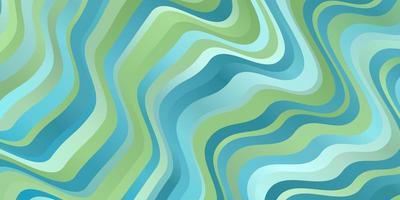 ljusblå, grön vektorlayout med sneda linjer.