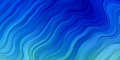ljusblå, grön vektorbakgrund med sneda linjer.
