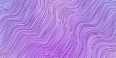 ljuslila vektorbakgrund med kurvor. vektor