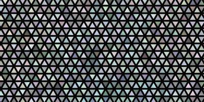 ljusblå vektorlayout med linjer, trianglar. vektor