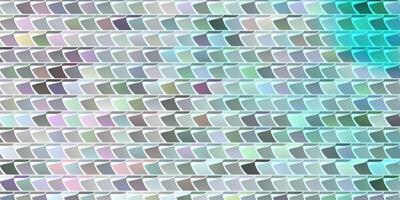 ljusblå vektormall med rektanglar.