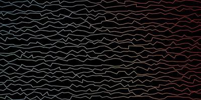 dunkelblaue, rote Vektorbeschaffenheit mit schiefen Linien. vektor