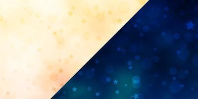 Vektorhintergrund mit Kreisen, Sternen. vektor