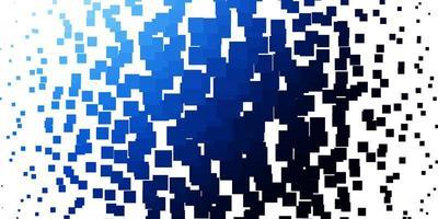 hellblaue Vektortextur im rechteckigen Stil. vektor