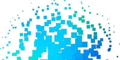 ljusblå, grön vektorbakgrund i polygonal stil.