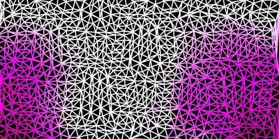 hellrosa Vektor-Gradienten-Polygon-Layout.