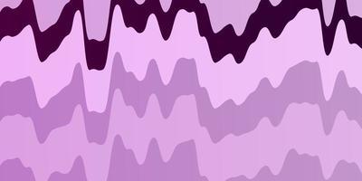 hellrosa Vektorhintergrund mit trockenen Linien.