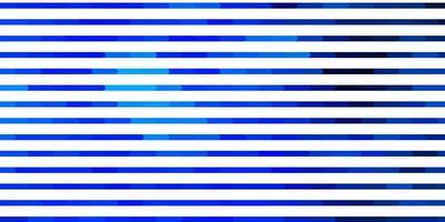 ljusblå vektormall med linjer.