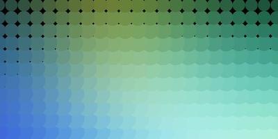ljusblå, grön vektorbakgrund med cirklar.