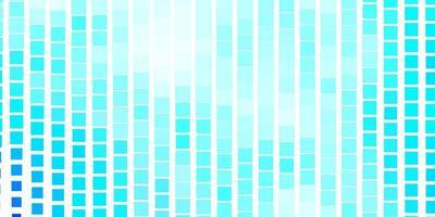 ljusblå vektorlayout med linjer, rektanglar.