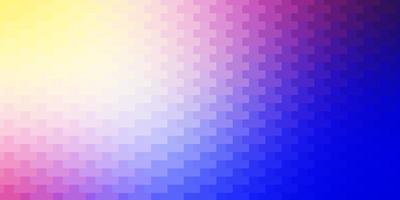 ljusrosa, blå vektorlayout med linjer, rektanglar.