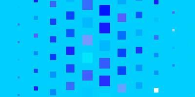 hellrosa, blaues Vektorlayout mit Linien, Rechtecken.