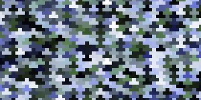 ljusblå, grön vektormall i rektanglar. vektor