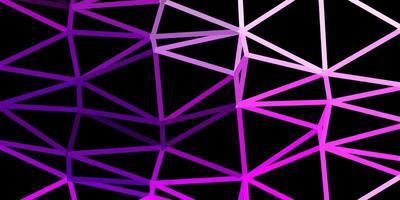 hellrosa Vektor abstrakten Dreieck Hintergrund.