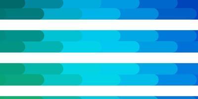 hellblaues, grünes Vektorlayout mit Linien. vektor